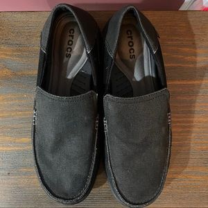 Crocs canvas loafer